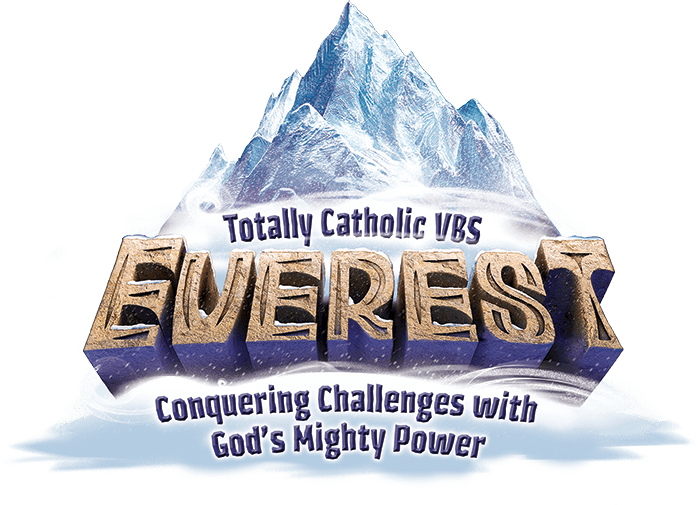 Everest Totally Catholic Vbs Logo